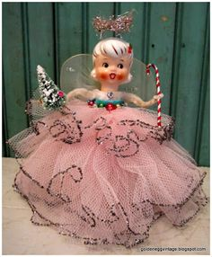 Holt Howard Angel Tree  Topper from . . . Golden Egg Vintage: It's A Holiday Market Monday Take Two!