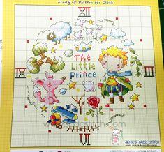 The little prince Counted cross stitch di GeniesCrossstitch