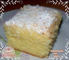 Érdekel a receptje? Gourmet Recipes, Sweet Recipes, Cookie Recipes, No Bake Desserts, Dessert Recipes, Pasta Cake, Hungarian Recipes, Baking And Pastry, Sweet Bread