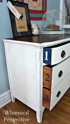 Pure White® Dresser by Whimsical Perspective