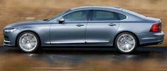 2017 Volvo S90L, Newest Volvo Car that Will be Exported to US and Europe