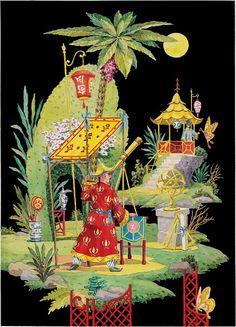Harrison Howard Chinoiserie Art Work