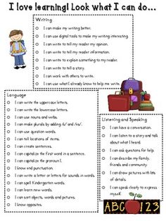 Preschool Progress Report | Preschool assessment