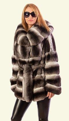 Pelliccia Cincilla Chinchilla Fur Jacket Pelzmantel | eBay