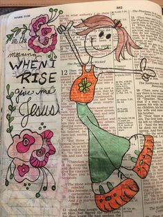 when I rise give me Jesus. Biblical Quotes, Bible Verses Quotes, Bible Scriptures, Bible Study Journal, Art Journaling, Prayer Journals, Journal Art, Journal Ideas, Scripture Art