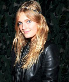 Best Beauty Looks of 2013: Constance Jablonski's beachy waves