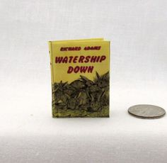 WATERSHIP DOWN 1:6 Scale Readable Miniature Doll Book Play scale Barbie Book #LittleTHINGSofInterest