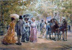 Alan Maley - Pintura Victoriana
