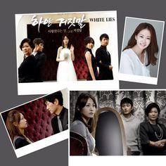 White Lies - Korean drama.  Starring Shin Eun-kyung, Kim Hae-Sook, Kim Yu-seok, Kim Tae-hyun & Im Ji-eun.