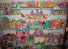 Ponies!  There's a whole garbage bag full of these in my mom's attic...