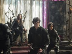 the 100 - octavia and bellamy with abby