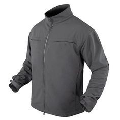Condor's Covert Soft Shell Jacket is a streamlined jacket that keeps you warm, dry, and comfortable in rainy and snowy weather.