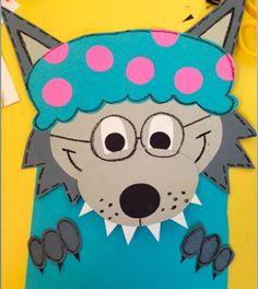 Little Red Riding Hood Writing Craftivity-Grandma Wolf https://www.teacherspayteachers.com/Product/Little-Red-Riding-Hood-1667932