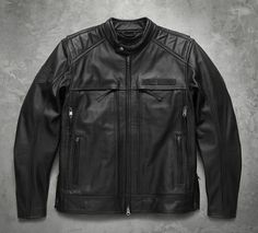Men's Synthesis Pocket System Leather Jacket. You will be amazed at the amount of pockets in this bad boy! Visit us at St. Croix Harley Davidson 2060 Hwy 65, New Richmond, WI 715-246-2959 www.stcroixhd.com