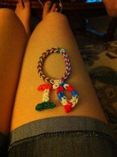 1D bracelet I created :) xlook what she made omg I love it @Jimmysayzn0 !!!!!
