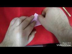 Rózsa papírból - YouTube