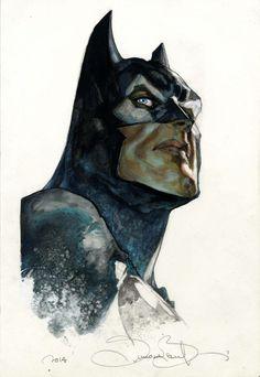 Batman art by Simone Bianchi