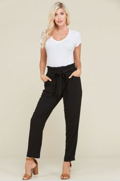 811999eb970 Wish You Were Here Trousers - Inspyre Boutique