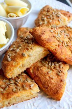 Lchf, Keto, Scones, French Toast, Brunch, Low Carb, Gluten Free, Bread, Breakfast