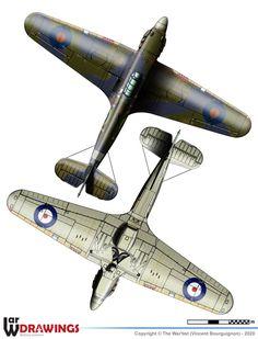 Ww2 Aircraft, Military Aircraft, Hawker Hurricane, Royal Navy