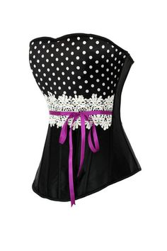 Neo Baroque 28 To Suit The PeopleS Convenience Satin Gray Striped Black And Floral Patterns Corset Bones Metal