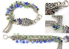 Indian Peacock Bracelet online bracelet tutorial