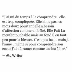 I Love Her Quotes, Words Quotes, Life Quotes, Deep Texts, Together Quotes, Cool Lyrics, Quotes White, Love Phrases, French Quotes