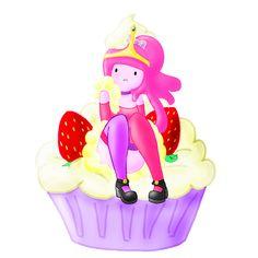 Princess Cupcake-gum by Strawberry--Killer.deviantart.com on @deviantART