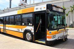 オアフ島の公共交通機関ザ・バス(The Bus)攻略法 Oahu Hawaii, Buses, Sweet Home, Wrestling, Lucha Libre, House Beautiful, Busses