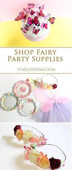 Fairy Party Ideas and Decorations for a Magical Fairy Party! Everything you will need for a woodland Fairy Party! Fairy Birthday Party, Birthday Party Themes, Birthday Ideas, 4th Birthday, Fun Party Themes, Party Ideas, Pixie Hollow Party, Storybook Party, Fairy Tea Parties