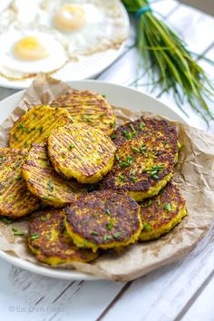 Low-Carb Cauliflower Hash Browns (Paleo, Gluten-free, Grain-free, Nut-free)