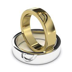 Lesbian Wedding Rings #2 - LGBT Wedding Ring Design