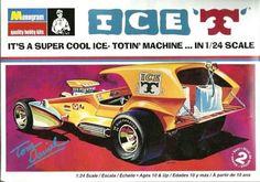 Monogram 1/24 Ice 'T' Designer: Tom Daniel   85-4266 – HQ Hobbies Online