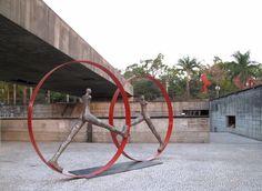 Museu Brasileiro de Escultura (MuBE) by Paulo Mendes da Rocha