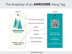 Anatomy of an awesome hang tag