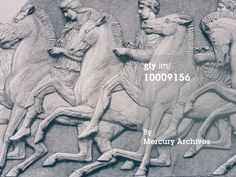 HORSES FROM THE PARTHENON FRIEZE