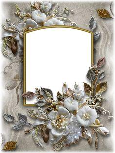กรอบ Framed Wallpaper, Heart Wallpaper, Borders For Paper, Borders And Frames, Flower Backgrounds, Wallpaper Backgrounds, Molduras Vintage, Picture Borders, Foto Frame