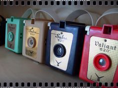 Valiant and Sabre cameras. LOVE them. Vintage Organization, and the Reopening of the Lampwork Studio***Pretty Things