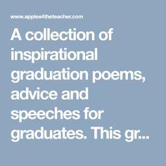 19 best graduation poems images graduation ideas messages thoughts rh pinterest com