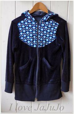 Alte Joppe in neuem Glanze / Old hoodie jacket now beautiful