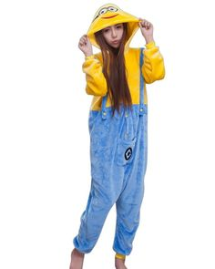 Amazon.com: SaiDeng Kigurumi Sleepsuit Adult Cosplay Style Pajamas Costume Homewear: Clothing