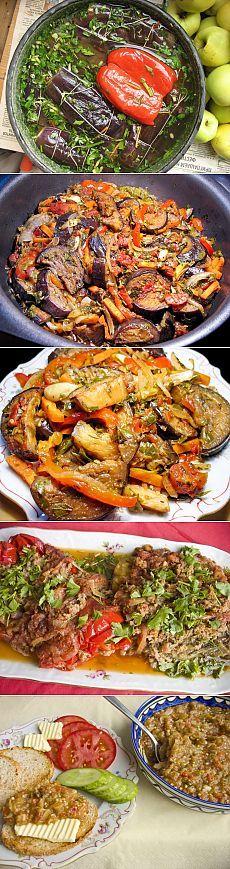 5 лучших блюд из баклажан