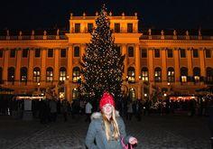 schoenbrunn natale Vienna, Louvre, Street View, Building, Travel, Viajes, Buildings, Destinations, Traveling