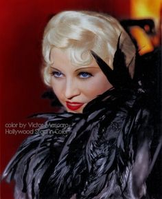 Mae West great color photo of her
