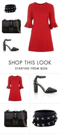 """""""Без названия #2819"""" by xeniasaintp ❤ liked on Polyvore featuring Topshop, Alexander Wang and Valentino"""