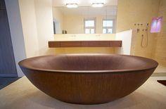 Various Wooden bathtubs - Freestanding