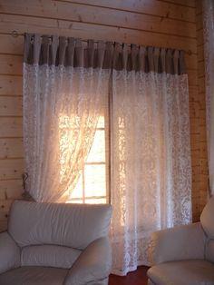 длинные шторы