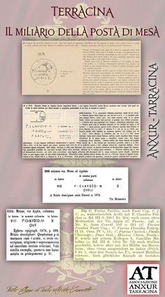 l miliario di Mesa, della via Appia (III sec. a.C.).AlbumIl miliario di Mesa, della via Appia (III sec. a.C.)