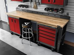 Adding a garage workbench is an important and beneficial task most of you will appreciate for the rest of their lives. After all, you get additional space, you get a sturdy surface to work on and you will make your garage look so much better. But as always there are a few things you need to know before you place your order and choose the best garage workbench. This is our mission and here we will assist you as much as possible. Take your time and read all the sections explained below.