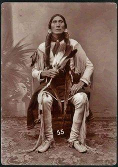 Пол Сеткопта, кайова. 1890